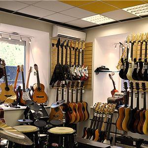 Музыкальные магазины Городища